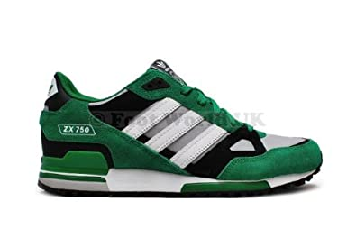 7d25e6453 Image Unavailable. Image not available for. Colour  Adidas Men s - ZX 750 - Green  White ...