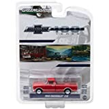 """NEW 1:64 GREENLIGHT ANNIVERSARY SERIES 6 COLLECTION - 1968 Chevrolet C-10 Red """"100th Anniversary of Chevy Trucks"""" Diecast Model Car By Greenlight"""