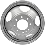 "Dorman 939-236 Steel Wheel for Select Chevrolet/GMC Models (17x6.5""/8x165.1mm), Gray"