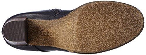 Gabor Sport - Zapatillas Deportivas Altas de Cuero Mujer Azul ( Ocean (Micro) 56 )