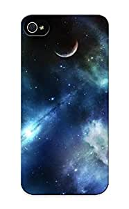 OnB360ydjwo HugeTree Awesome Case Cover Compatible With Iphone 5/5s - Outer Space Stars Galaxies Planets
