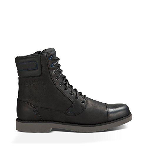 Teva Men's M Durban Tall-Leather Boot - Black/Dark Shadow...