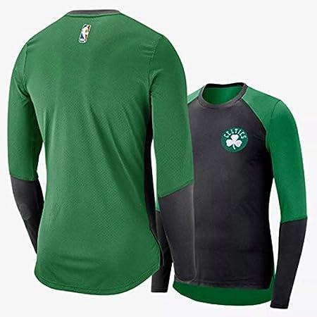 Shelfin Jersey De Hombre Medias De Camiseta De Manga Larga NBA ...