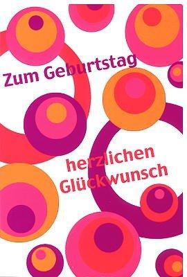 Geburtstagskarte Herzlichen Glückwunsch   70er: Amazon.de