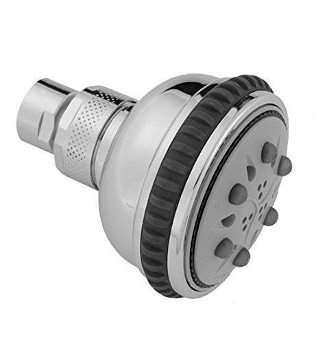 Jaclo S128-PB Serena Showerhead Polished Brass