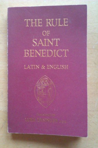 The Rule of St. Benedict, Latin & English by Brand: Source Books
