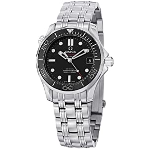 41Y15hvgSBL. SS300  - Omega Seamaster Automatic Black Dial Unisex Watch 21230362001002