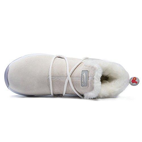 onemix1205 - Zapatillas altas Mujer BeigeWhite