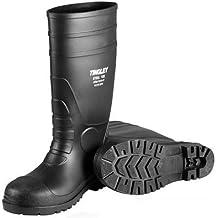 "Tingley Men's PVC Steel Toe 15"" Knee Boot,Black,US 11 M"