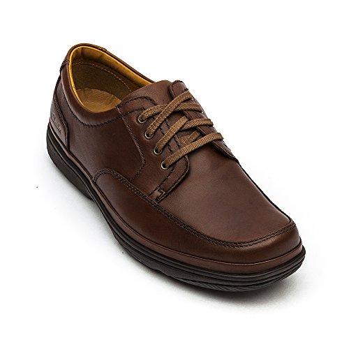 Caoba Swift Zapatos Cuero Clarks De Hombres Milla qzwpT