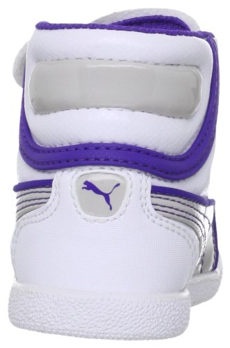 PUMA - Zapatillas para niña Blanco (Blanc (01White/Gray Violet/Blue))