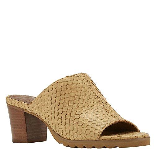 Walking Women's Cradles Women's Walking Nia Camel Cut Snake Print Leather Sandal B01IGHZCYW Shoes 583c87