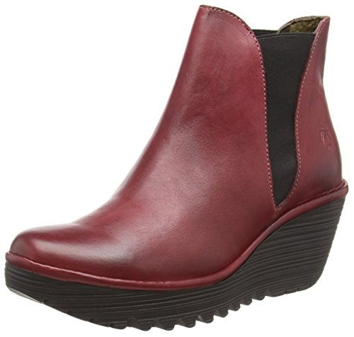Femme Fly YossBottines Rougered 060 London 0PkXnwO8
