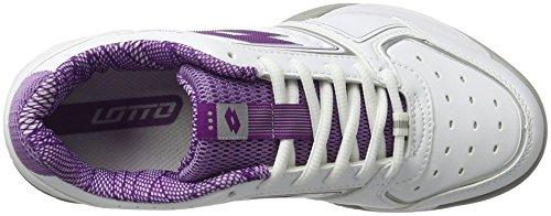 Chaussures IX Spk Tennis Sport de Tour Blanc Lotto Femme Wht Prp 600 W 7pXWEwqw