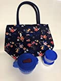 Tupperware Fall For Floral Insulated Lunch Bag Crystalwave Set