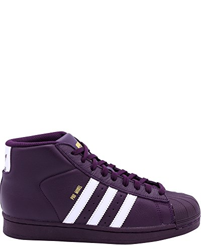 adidas Originals Kids Unisex Pro Model (Big Kid) Red Night 5 M US Big Kid