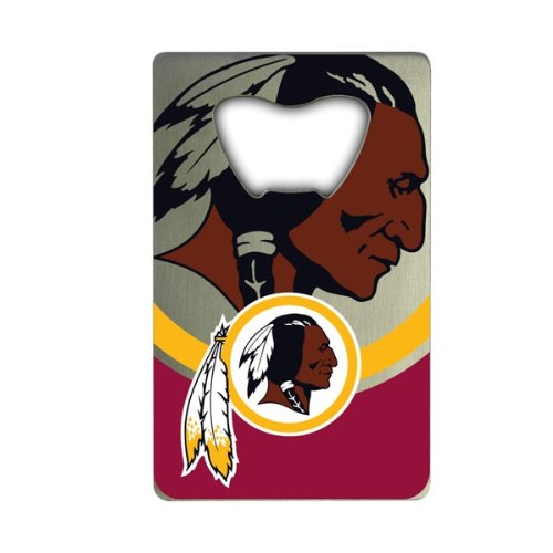 Washington Opener Bottle (Team ProMark NFL Washington Redskins Credit Card Style Bottle Opener)