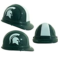 NCAA College Michigan State Spartans Hard Hats with Ratchet Suspension 2