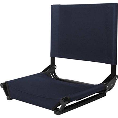 Cascade Mountain Tech WideStadium Bleacher Seats With Backs (Navy)