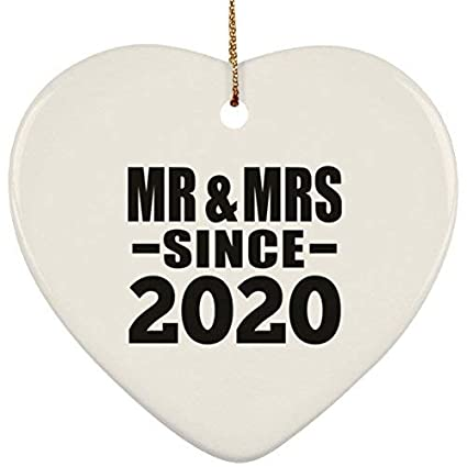 Best Gifts For Husband 2020 Amazon.com: ances Lincoln Anniversary Ornament, Mr & Mrs Since