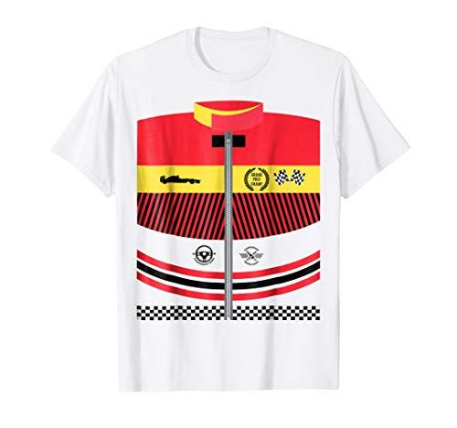 Race Car Driver Costume Tshirt Halloween Racing Shirt ()