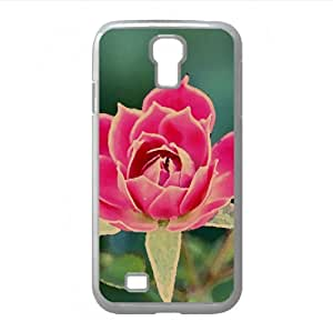 Beautiful Rose Petals Watercolor style Cover Samsung Galaxy S4 I9500 Case (Flowers Watercolor style Cover Samsung Galaxy S4 I9500 Case)