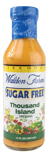 Walden Farms Sugar Free Dressing Thousand Island - 12 fl oz