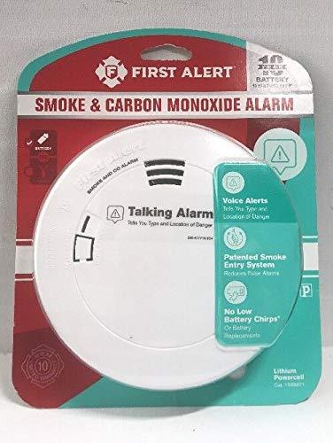 First Alert Pc1210v Smoke & Carbon Monoxide Talking Alarm(2pack)