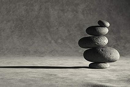 Amazon Com Stacked Zen Stones Photography A 93568 9x12 Fine Art
