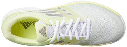 adidas Adizero Ubersonic W - Zapatillas Para Mujer Blanco / Plata / Amarillo