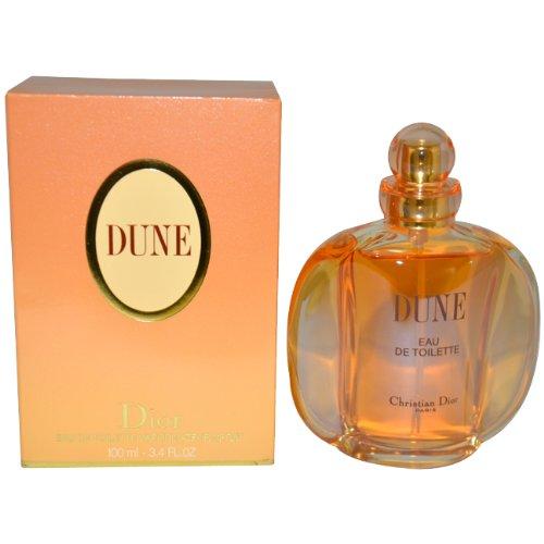 Christian Dior Dune Eau De Toilette Spray for Women, 3.4 Ounce