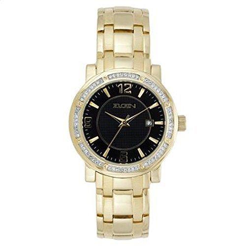 Elgin Gold Watch - Elgin Men's Textured Dress Watch Fg1998