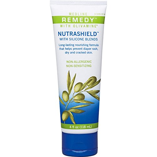 (Medline Remedy Olivamine Nutrashield Skin Protectant 4 oz (Pack of 2) )