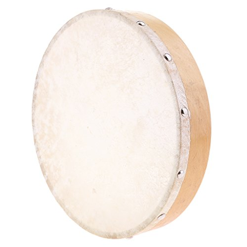 Jili Online 10 inch Hand Drum Hand Percussion Educational Toy for Kids Toddler KTV Party Palying Toy by Jili Online