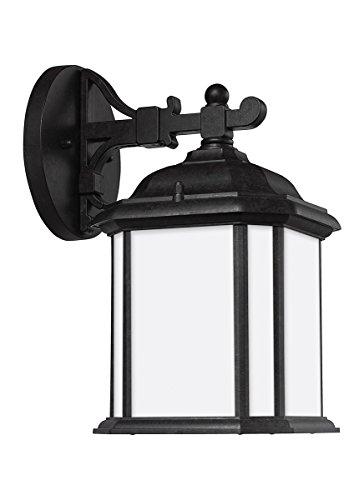 Sea Gull Lighting 84529-746 One 84529-746-One Light Outdoor Wall Lantern, 11.5'' Height, Oxford Bronze
