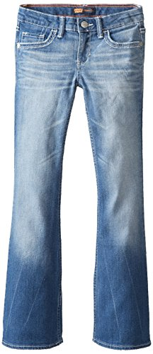 Levi's Girl's 7-16 Taylor Thick Stitch Bootcut, Blue Rapids, 10