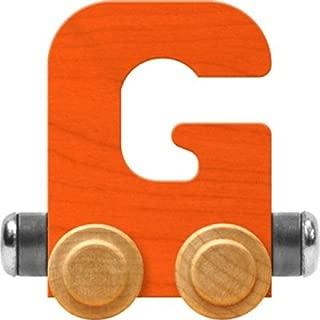 product image for Maple Landmark NameTrain Bright Letter Car G - Made in USA (Orange)
