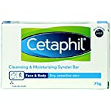 Cetaphil Cleansing And Moisturising Syndet Bar, 75g