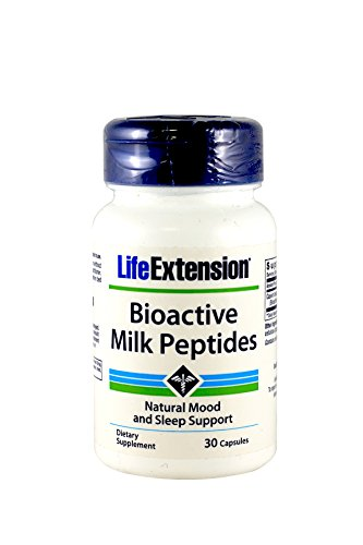 Sleep Naturally 30 Cap - Life Extension - Bioactive Milk Peptides - 150 Mg - 30 Caps (Pack of 3)