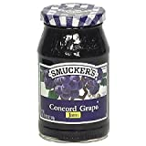 Smucker's Concord Grape Jam, 18 oz (1 lb 2 oz) 510 g