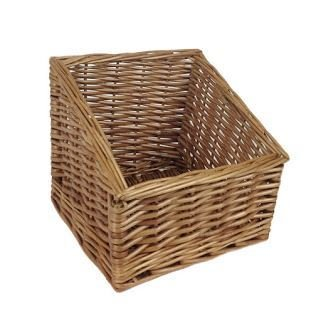 Small Farm Shop Display Wicker Basket by Red Hamper