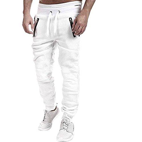 Cavallo Robo Bianco Harem Xs Pants Pantaloni Allentati Basso xl Jogging Carghi Ragazzo Uomo rXXwBqgR