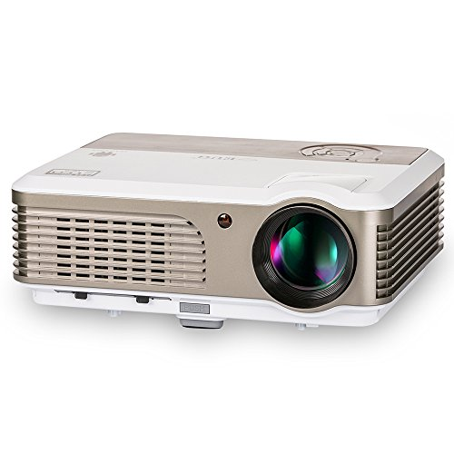 LED Projector HD 2600 Lumen Multimedia Home Theater Cinem...