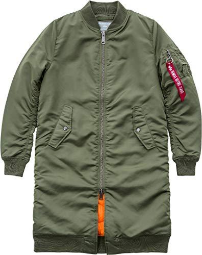 1 Wmn 168010 Green Ma Long Alpha Sage Sage Industries green Coat Rib qnWtfAw7Ac