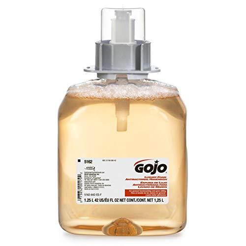Soap Jo Bottle - Go-jo 5162-03 Luxury Antibacterial Foam Soap Refill, 42 Oz