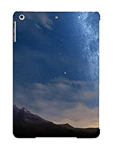 New Fashionable Standinmyside F00922f2920 Cover Case Specially Made For Ipad Air(starry Night Sky)