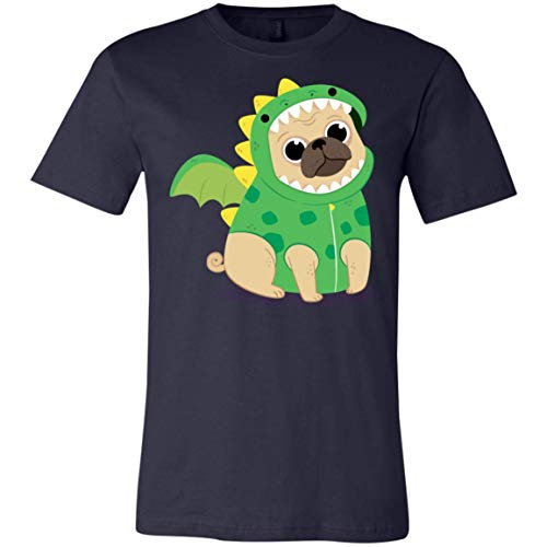 Cute Pug with Dragon Costume - Funny Pug Tshirt ()