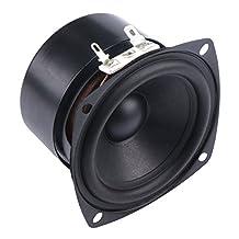 """DROK® 15W Mini 3"""" inch Speaker 4 Ohm HiFi Full Range Audio 2.0/2.1 Home Stereo Woofer Loudspeaker 90dB High Sensitivity for Boombox Satellites Speaker"""