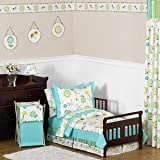 Turquoise and Lime Stripe Fabric Memory/Memo Photo Bulletin Board for Layla Collection