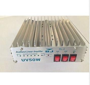 Amazon com: New 50W Dual Band VHF&UHF Power RF Amplifier